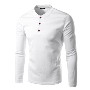 Clean Cut Henley - 3 More Colors