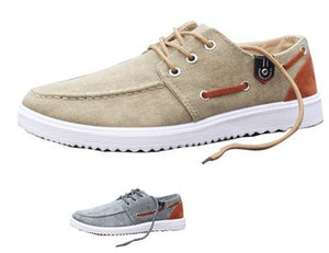 Canvas Boat Shoes - 2 colors