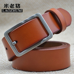 Classic Leather Belt Collection