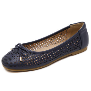 Hollowed Loafers - 2 Colors