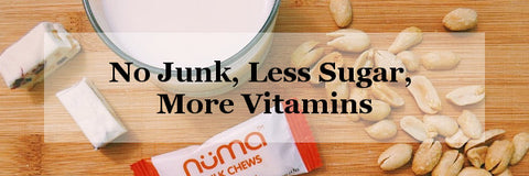 no junk less sugar more vitamins
