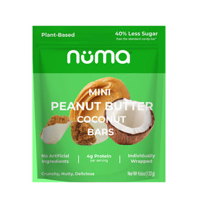 Numa Mini Peanut Butter Bars - Select Your Flavor