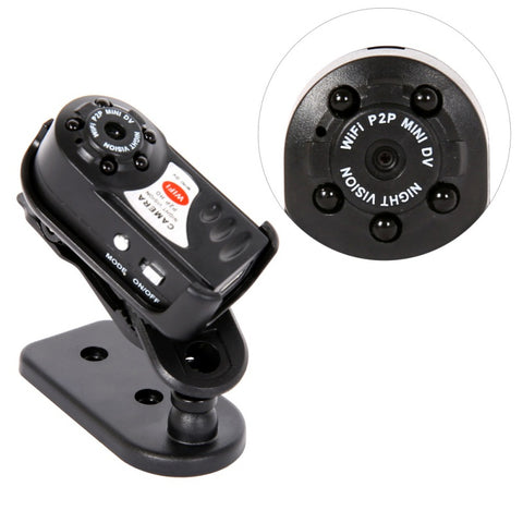 World's Smallest Night Vision Security Camera