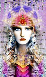 Goddess Girl by Jo Zaza. Powerful Woman.