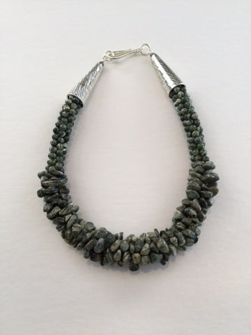 Choker Kumihimo Necklace