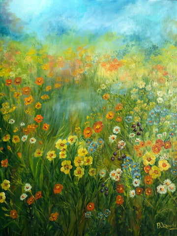 Field of Wild Flowers - SOLD