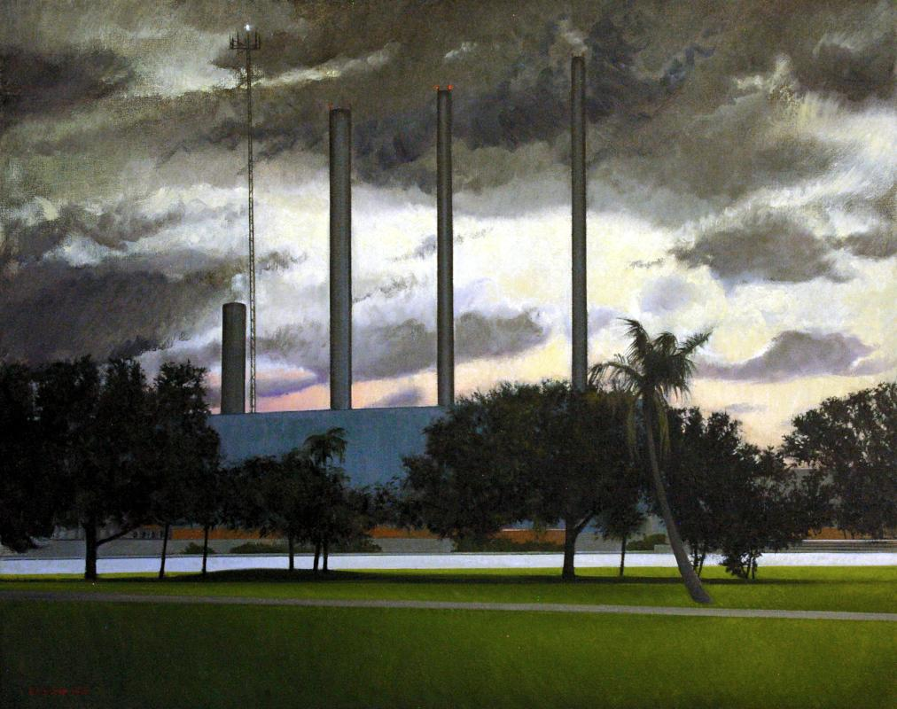 Ellen Fischer - Power Plant Dawn