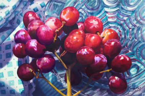 Frank Spino - Red Grapes