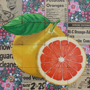 SOLD - Vintage Grapefruit