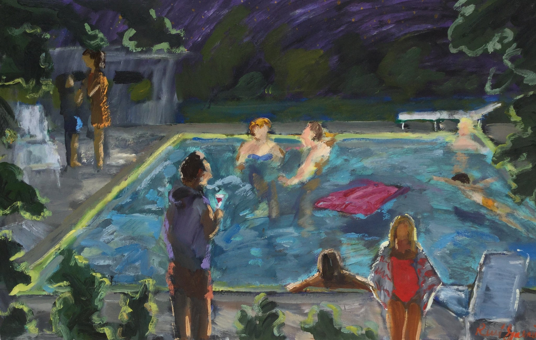 Rene Guerin - Night Swim