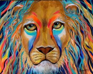Stylized Lion - SOLD!