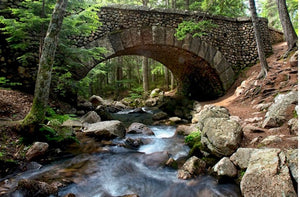 Cobblestone Bridge - Photography, 16 X 12