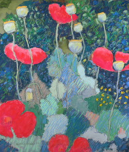 Magical Red Poppies
