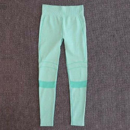 The Gaby-Yoga Pants Green