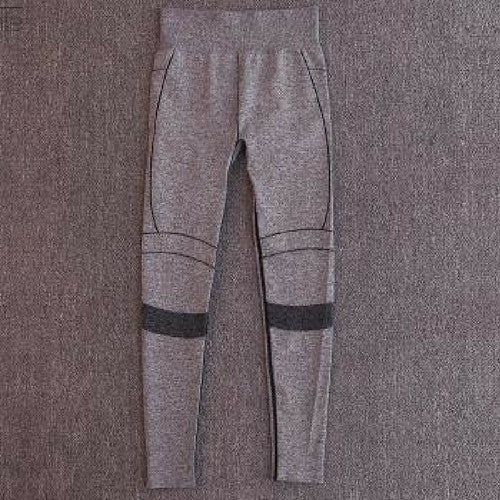 The Gaby-Yoga Pants Gray