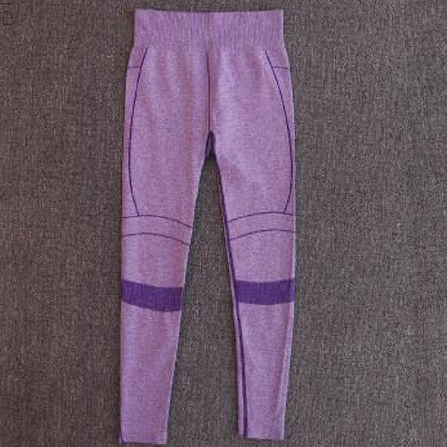 The Gaby-Yoga Pants Purple