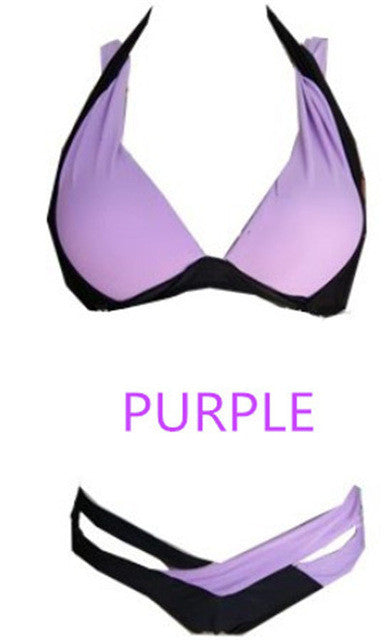 Beach Riot-Two Piece Bikini Purple