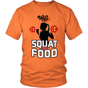 Will Squat for Food T-Shirt