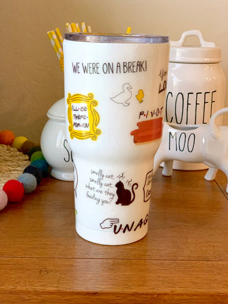 The Friends Fan tumbler