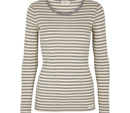 Women's Striped Longed Sleeve