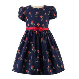 Red Rose Party Dress