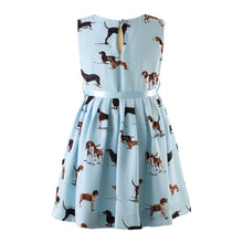Dog Pleated Dress