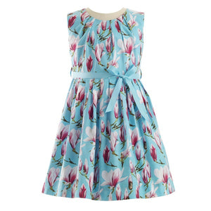 Magnolia Pleated Dress