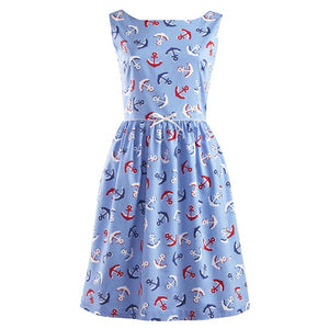 Women's Anchor Gathered Dress