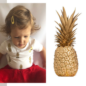 Short Sleeve Pineapple T-shirt