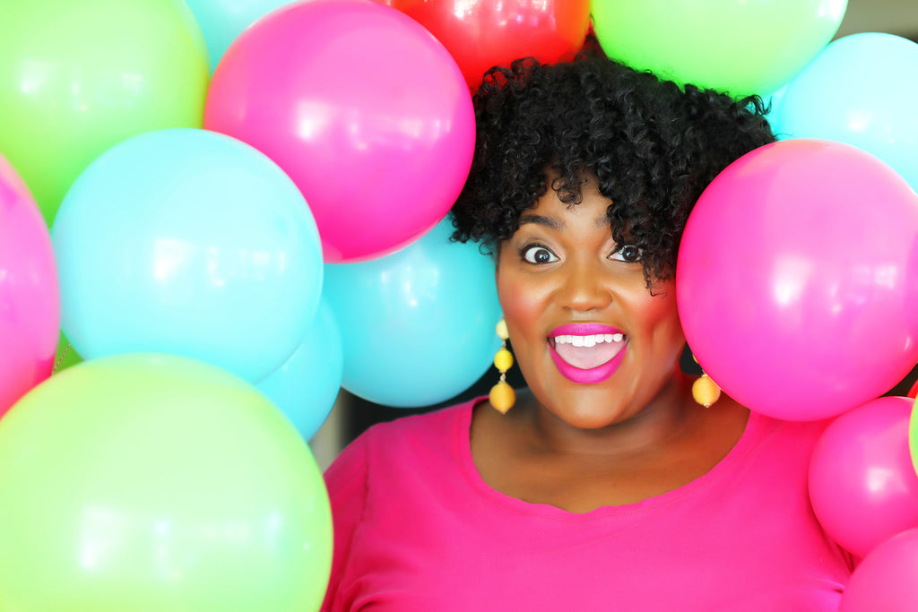 Announce Divinely Ebony and Lots of Balloons