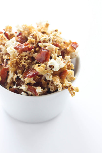 Maple Bacon Bourbon Popcorn Bake Your Day