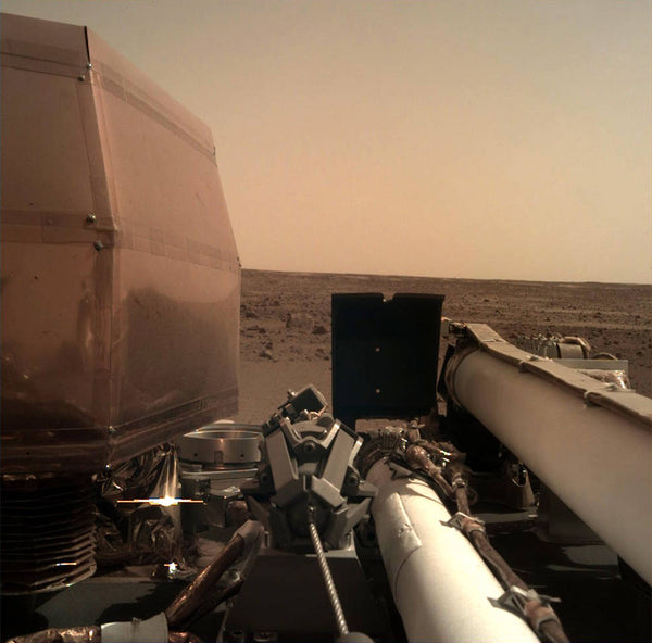 NASA Insight's Mars Landing