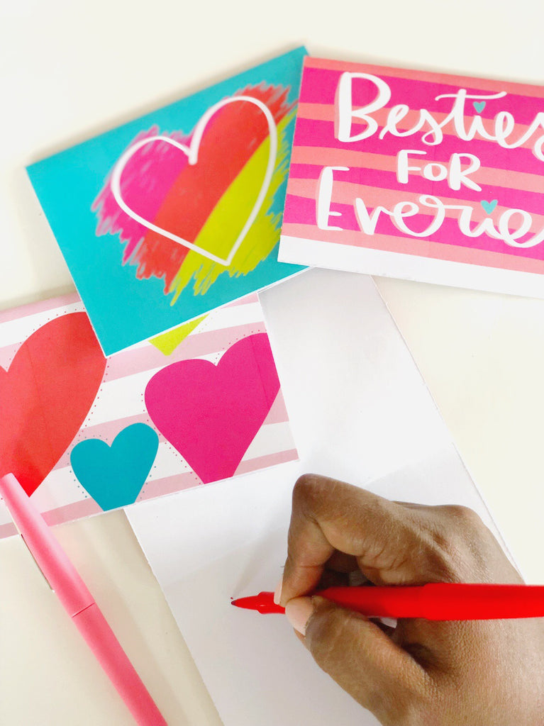 Announce Divinely Printable Valentine's Day cards