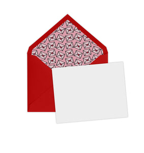 Pink Envelope Note Set