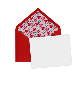 Hearts Note Set