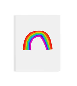 Announce Divinely Rainbow Art Print