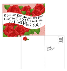 Roses and Vaccines Postcards