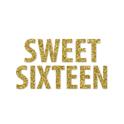Announce Divinely Sweet Sixteen Banner