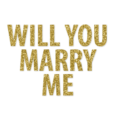 Announce Divinely Will You Marry Me Banner