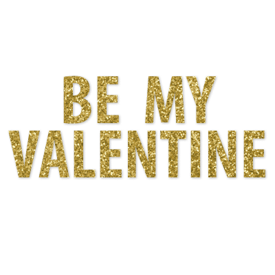 Be My Valentine Banner