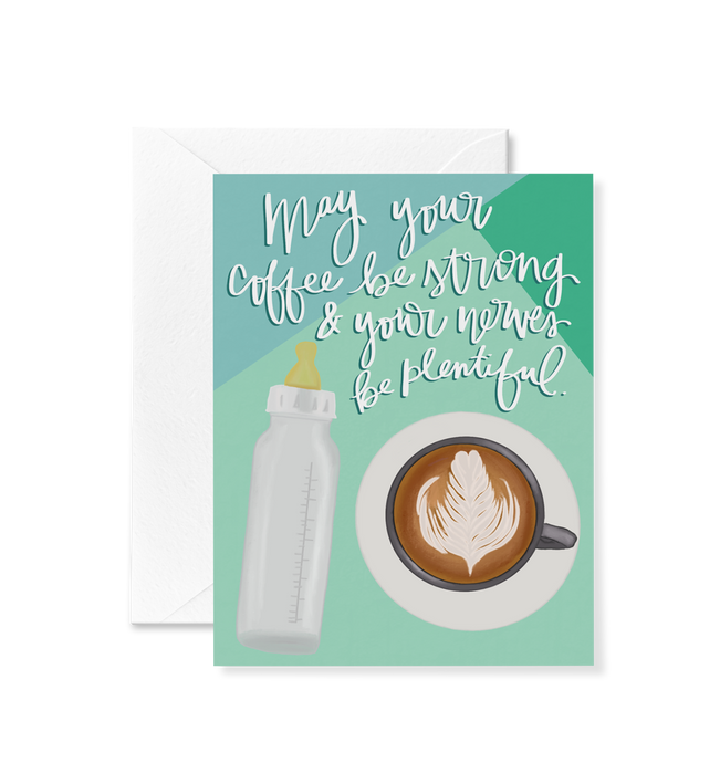 Coffee and Nerves Card