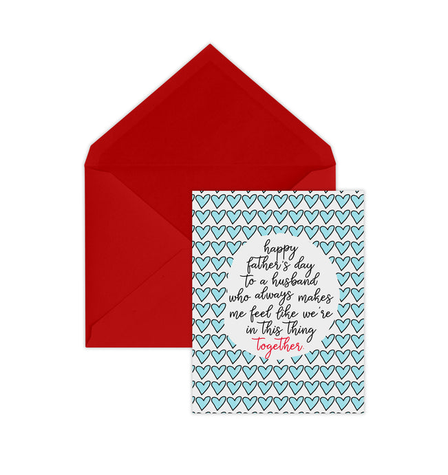Announce Divinely Perfect Team Father's Day Card
