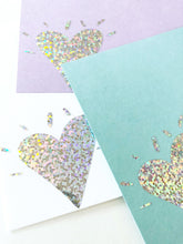 Iridescent Heart Note Set