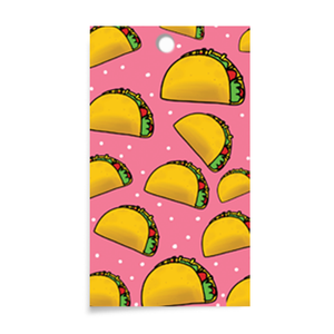 Announce Divinely Taco Gift Tag