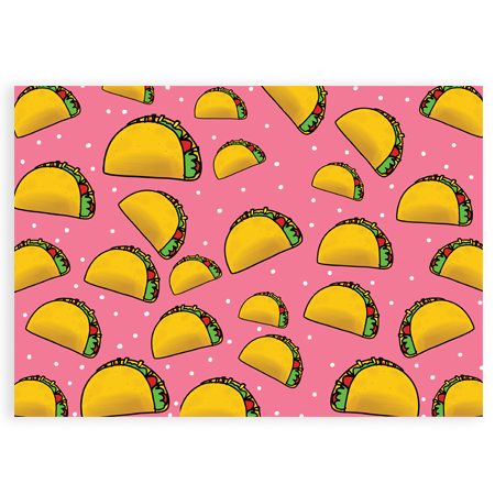 Announce Divinely Taco Gift Wrap