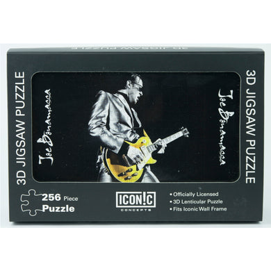 Joe Bonamassa Gold Guitar 3D Puzzle (252 Pieces)