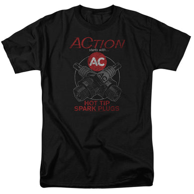 AC Delco Cross Plugs Retro T-Shirt