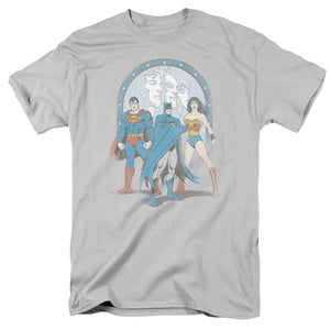 Justice League Trinity Retro T-Shirt