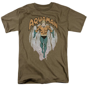 Aquaman From the Depths Retro T-Shirt