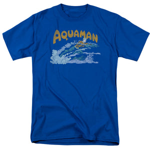 Aquaman Aqua Swim Retro T-Shirt